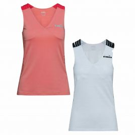 DIADORA L TANK TOP CLAY Damen Tennis Shirt Trainingsshirt Fitness Top 102.174118