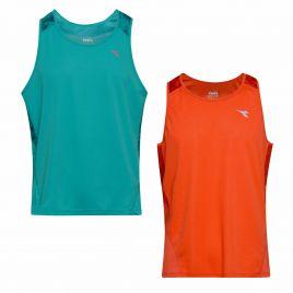 DIADORA TANK BRIGHT SUN LOCK 2019 Herren Lauf Trainings Fitness Shirt 102.174160