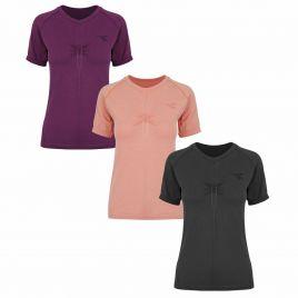 DIADORA L. SS TECHFIT T-SHIRT 19/20 Damen Laufshirt Fitness Shirt 102.174164