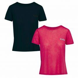 DIADORA L. SS T-SHIRT WORKOUT Damen Laufshirt Fitness Trainings Shirt 102.174210