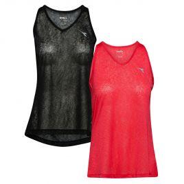 DIADORA L.TANK TOP ACTIVE Damen Laufshirt Fitness Shirt Trainingsshirt 102173462