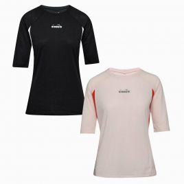 DIADORA L. 3/4 SLEEVE T-SHIRT Damen Laufshirt Fitness Trainings Shirt 102175697
