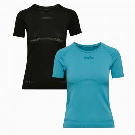 DIADORA L. SS SKIN FRIENDLY T-SHIRT Damen Lauf Fitness Trainings Shirt 102175704