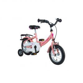 Kinderrad PANTHER 1-Gang - 12 Zoll RH 20cm inkl. Stuetzraeder  Farbe pink Art 1022131