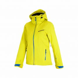 ZIENER TOJA JUNIOR Kinder Skijacke Snowboardjacke TEAMWEAR 20k DERMIZAX 184922-672992 yellow blue shade