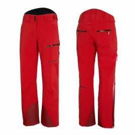 ZIENER TILAS VENT-ZIP MAN Herren Skihose TEAMWEAR 20K 184937-888991 red black shade