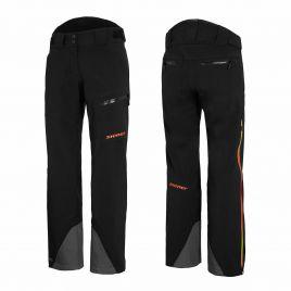 ZIENER TELLUS VENT-ZIP LADY Damen Skihose Snowboardhose TEAMWEAR 20K 184944-12993 black orange shade