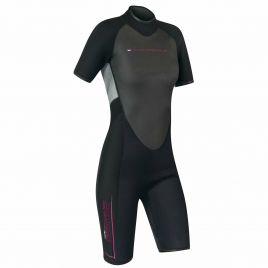 CAMARO REVO SEMIDRY SHORTY Damen Neoprenanzug Wetsuit Shorty 2mm 620-99-W