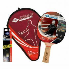 DONIC PERSSON TOP TEAM LEVEL 600 Tischtennis- Schläger SET mit ITTF-Belag 788487