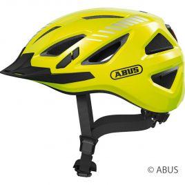 Abus Urban-I 3.0 signal yellow Cityhelm mit Rücklicht 86867-68-69