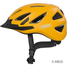 Abus Urban-I 3.0 icon yellow City Fahrradhelm mit Rücklicht 86889-86890