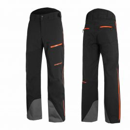 ZIENER TILAS VENT-ZIP LADY Damen Skihose Snowboardhose TEAMWEAR 20K 184938-973955 black hb orange pop