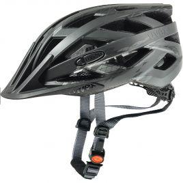 Uvex Fahrradhelm I-VO cc 410423 black smoke mat