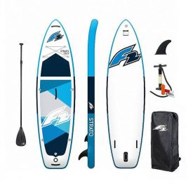 F2 STRATO 10.5 NEW SUP Set Stand Up Paddle Board mit Paddel Pumpe Tasche 801017-10.5