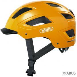 Abus Fahrradhelm Hyban 2.0 icon yellow City Fahrradhelm mit LED Rücklicht 86924 - 86925