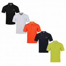 REGATTA MAVERICK V ACTIVE Herren Polo Shirt Funktions Shirt Piqué Shirt RMT221
