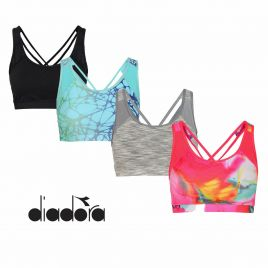 DIADORA L.LIGHT BRA Damen Trainings BH Sport BH Fitness BH Bra 102.171014